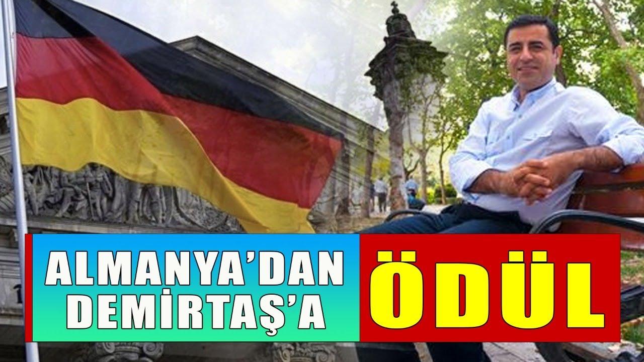 Almanya'dan Selahattin Demirtaş'a ödül