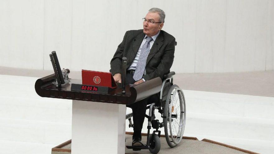 Antalya Milletvekili Deniz Baykal..