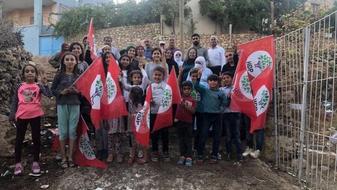HDP Eylül ayında bin 653 köyü ziyaret etti