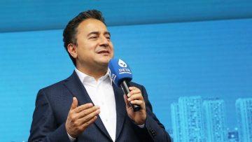 Babacan: Kaynağı devlet olan Kürt sorununda ilgili herkesle görüşülmeli