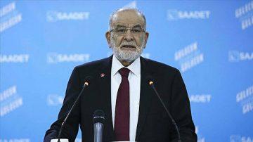 Saadet Partisi lideri Karamollaoğlu'ndan 'ittifak' açıklaması: Herkesle görüşeceğiz, görüşüyoruz